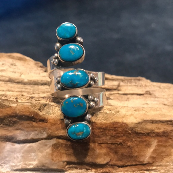 Jewelry - Native American Sterling Silver & Turquoise Ring
